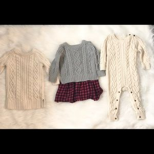 3 baby gap sweater